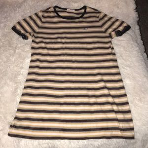 Striped Vans dress